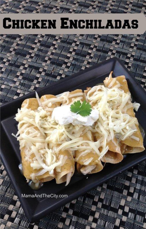 Recipe for Chicken Enchiladas