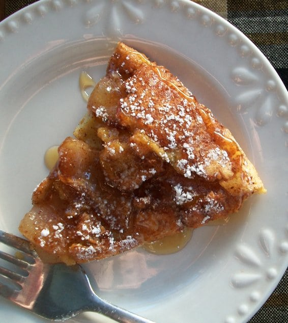 Recipe for German Apple Pancake