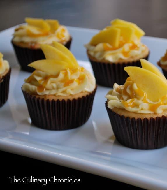 mango buttercream frosting
