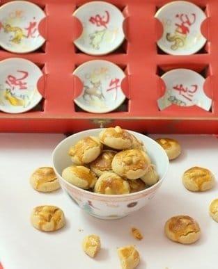 Recipe for Peanut Cookies