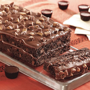 Recipe for Easy Brownie Torte