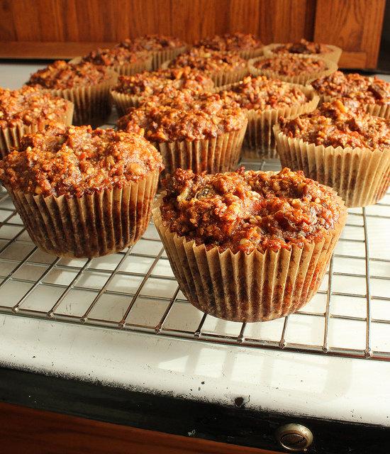 Recipe for Carrot-Banana Muffins