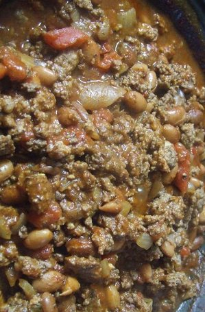 This is my moms classic chili recipe that she always makes on a cold, winter day. I've tried other chili recipes but I always come back to this one.