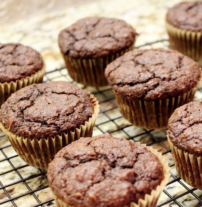 Recipe for Double Chocolate Muffins - Gluten Free