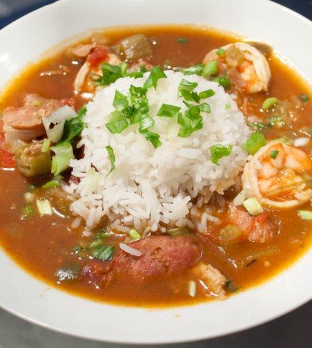 Recipe for Turkey Sausage and Shrimp Gumbo