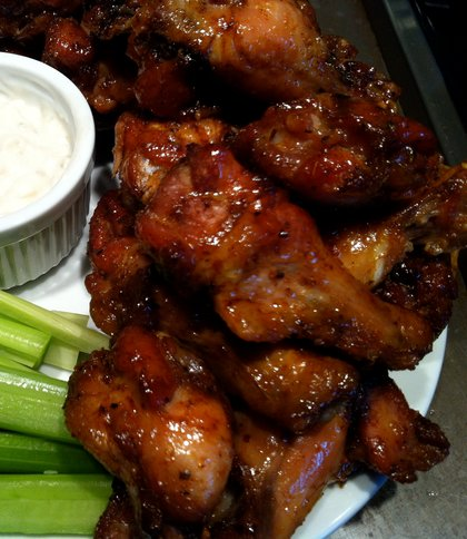 Recipe for Game Day Hot Chicken Wings