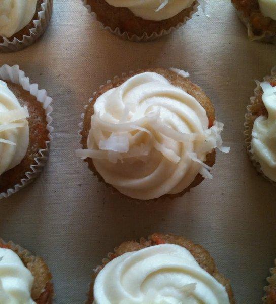 Recipe for Mini Carrot Cupcakes