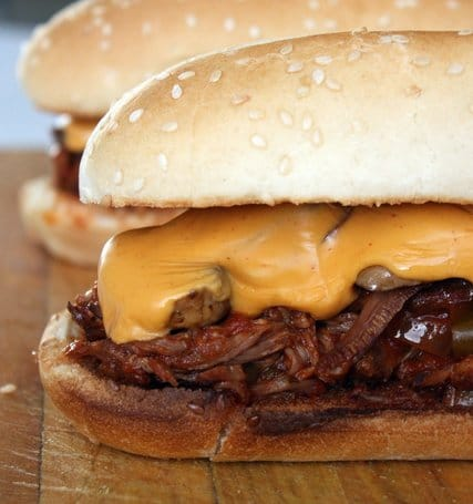 Recipe for Slow Cooker Spicy Southwest Steak Sandwiches