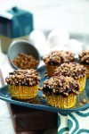 Recipe for Coffee Toffee Heath Cupcakes