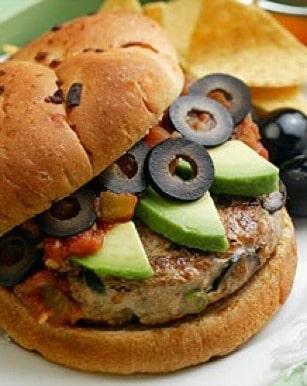 Mexican-Turkey-Burgers