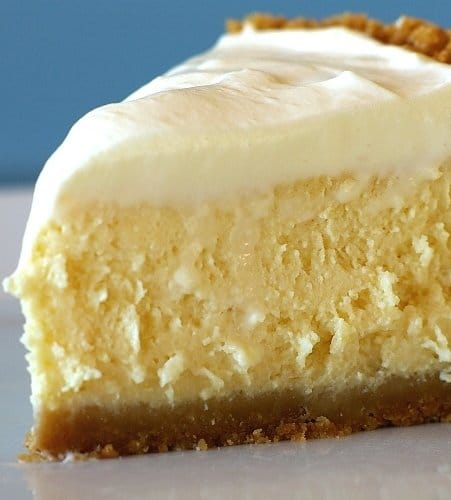 A quick and easy lemon cheesecake recipe that tastes light and bright; just like spring!