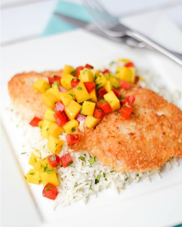 Coconut Crusted Whitefish - STL Cooks