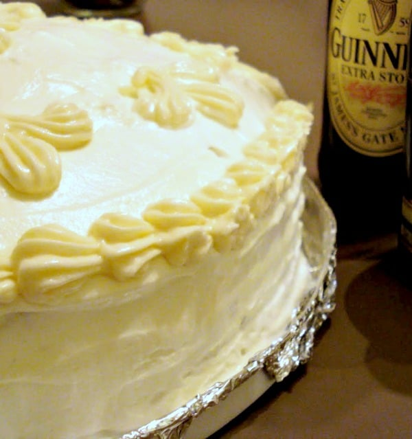 Chocolate-Guinness Cake With Baileys Buttercream Icing - STL Cooks