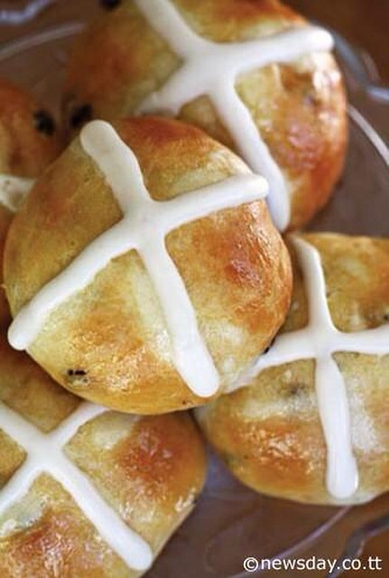Recipe for Hot Cross Buns