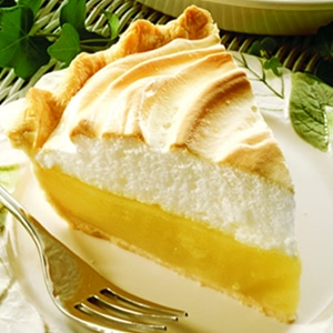 """Created in the early 1900s, this pie was touted as """"magic."""" This Magic Lemon Pie Recipe is easy to make, delicious every time and never fails, even for first-time bakers."""