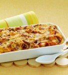 Combine all-star breakfast ingredients like eggs, bacon and cheese into a single dish in this Cheesy Bacon & Egg Brunch Casserole, seasoned with ground mustard and nutmeg