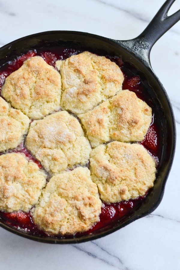 Looking for a perfectly delicious spring dessert, bursting with fresh berry flavor? ThisStrawberry-Raspberry Cobbler fits the bill perfectly!