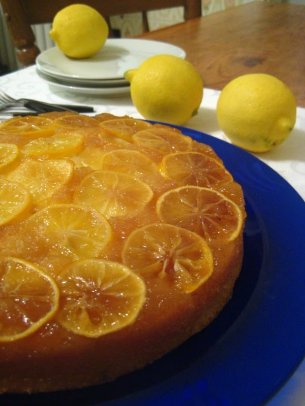 Lemon Upside Down Cake Recipe Stl Cooks