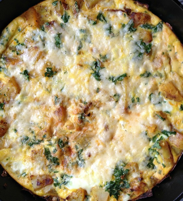 Paprika Potato Frittata Recipe — Dishmaps