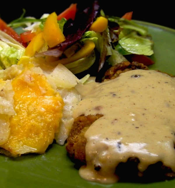 Chicken Fried Steak with Cheddar Scalloped Potatoes | STL Cooks