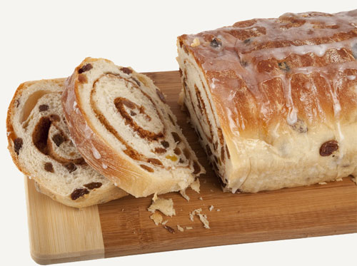 Cinnamon Raisin Swirl Bread - STL Cooks