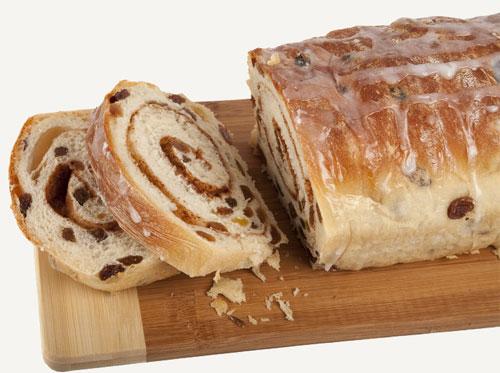 Recipe for Cinnamon Raisin Swirl Bread
