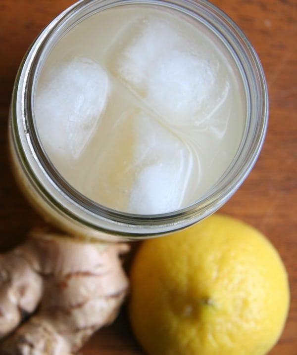 Recipe for Dr Toms Ginger Lemonade