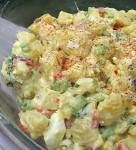 Good Old Fashion Potato Salad – This is the type of potato salad that grandmas the world over are known for making.