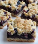Blueberry Crumb Bars – These are so good and super simple to make. The base and crumble mix in this is universal and can be used with any type of fresh or frozen berries.