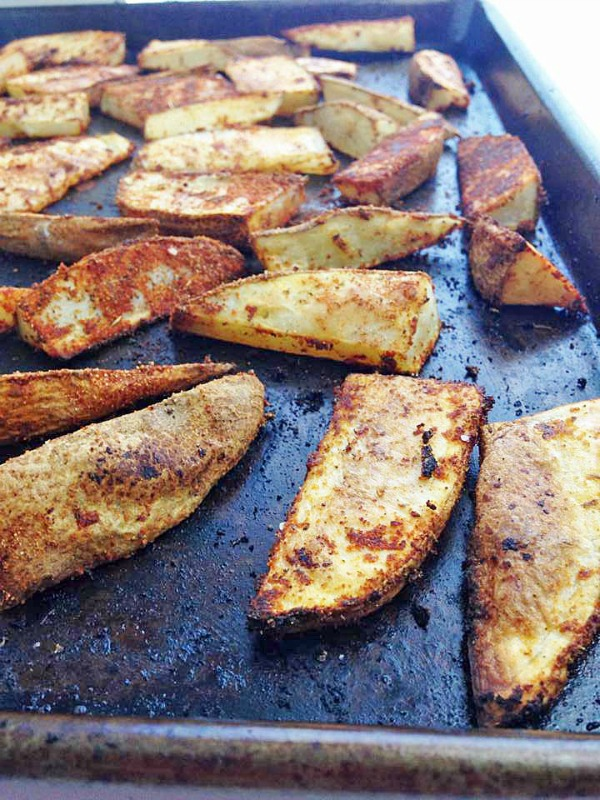 Recipe for Cajun Potato Wedges