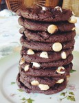 Chocolate lovers only!!! These thick and chewy soft batch chocolate fudge cookies are melt-in-your-mouth amazing!