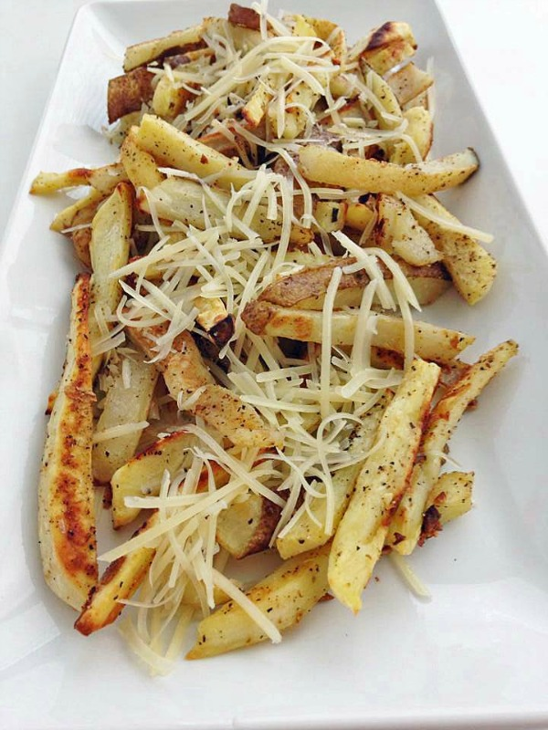 Recipe for Garlic Cheese Fries