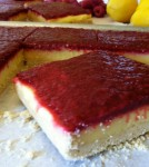 This Lemon Raspberry Bar recipe was inspired by Chef Thomas Kellers' Lemon Meringue Bar from the French Laundry Cookbook.