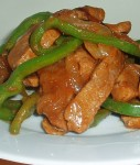 Recipe for Pepper Steak – Strips of beef and peppers are stir fried to create a delicious main dish, ready in no time! I love stir fried anything, and this pepper steak is always a huge hit!