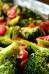 Roasting broccoli to make thisRoasted Broccoli and Tomato Saladgives it a bit of crispness that will make a broccoli lover out of anyone!