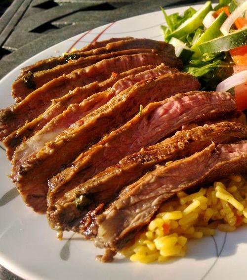 Recipe for Cilantro Lime Skirt Steak