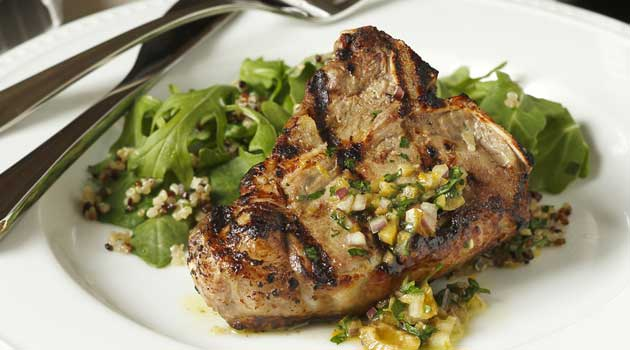 Add variety to your grilling fare by including this Grilled American Lamb and Pinot Noir. A fast, delicious and simple weeknight option.