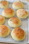 These Light Brioche Buns are light and fluffy, yet sturdy enough for your most epic burger. This recipe yields the perfect homemade hamburger bun.