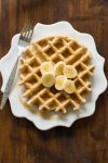 This healthy and deliciousPeanut Butter Wafflesrecipe is made with a few simple ingredients and comes out perfect every time. Enjoy!