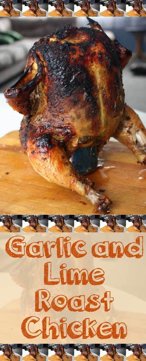 Recipe for Roast Chicken with Garlic and Lime - This chicken was amazing! There's just no other way to describe it. The flavors really complimented each other perfectly.