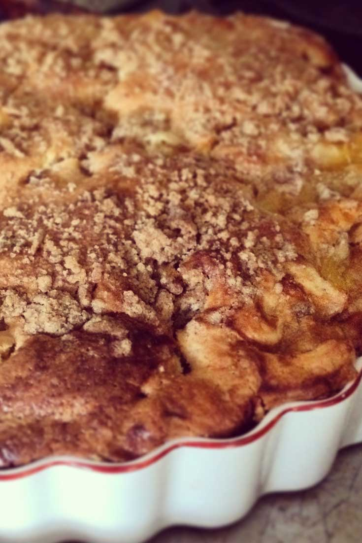Recipe for Vanilla Pineapple Cake