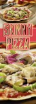 """Next time they ask for pizza, you can feel good about saying """"yes!"""", with this Skinny Pizza recipe. Flour tortillas make for a crispy crust, perfect for loading with tomato sauce, cheese, and lots of fresh veggies."""